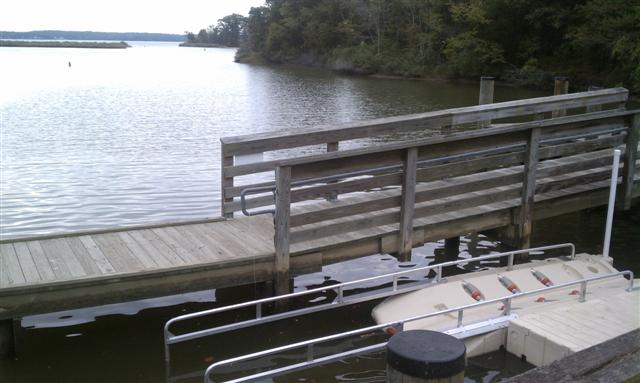 Nans Cove Floating Dock